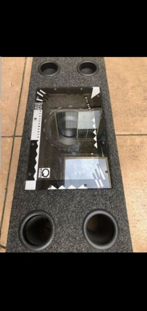 Brand New, Polk audio dual speakers Subwoofer. High Performance, Q Logic for Sale in San Jose, CA