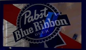 PABST BLUE RIBBON-Collectible Mirror-Beer Sign for Sale in Smyrna, GA