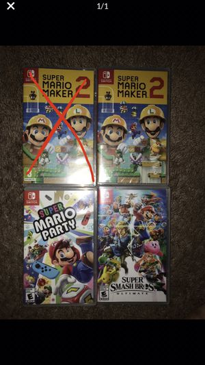 Nintendo Switch Games for Sale in Lathrop, CA