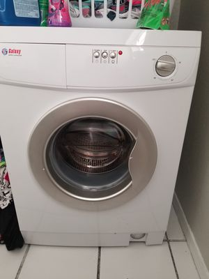 Galaxy Appliances front load washer and electric dryer . 24 in wide small for apartment or dorm . for Sale in Oklahoma City, OK
