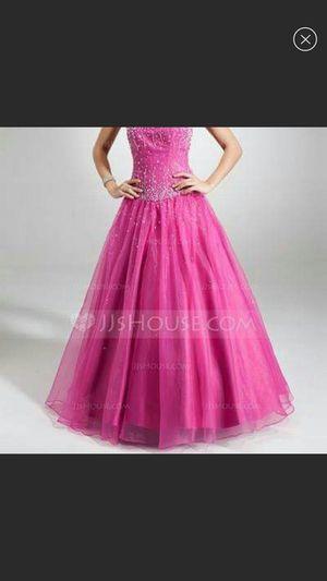 Fuschia Prom/quinceañera dress for Sale in Riverside, CA
