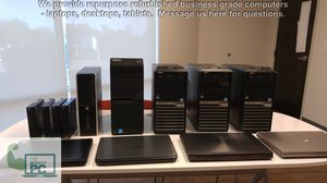 Business Grade Computers lightweight portable Refurbished/Repurposed Business Laptop/Desktop/Chromebook/Tablets for Sale in Youngtown, AZ