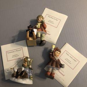 Set Of 3 Berta Hummel Ornaments for Sale in Washington Township, NJ