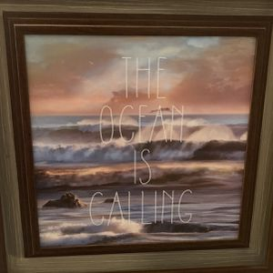 The ocean Is Calling Framed In 15x15 for Sale in Boston, MA