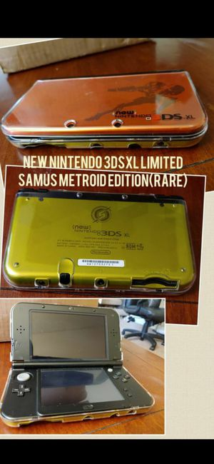 NEW NINTENDO 3DSXL (RARE LIMITED METROID SAMUS EDITION) IN EXCELLENT CONDITION 100%💥💥 for Sale in Escondido, CA