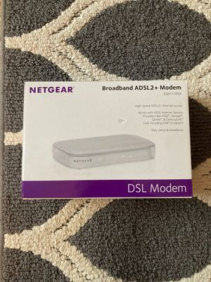 Netgear Broadband ADSL2+ Modem for Sale in Newport News, VA