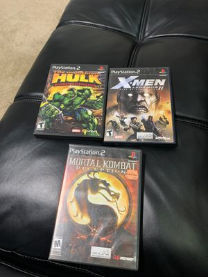 Ps2 games for Sale in Fresno, CA