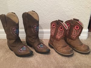Girls boots for Sale in Brooksville, FL