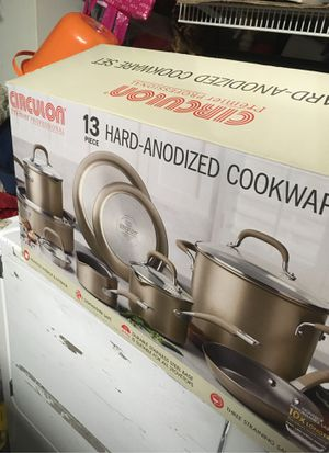 Circulon 13-piece Hard -Anodized Cookware Set [Premier professional] for Sale in Fremont, CA