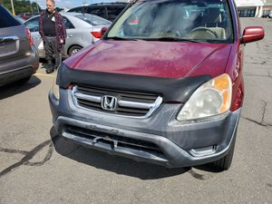 2002 HONDA*CRV,4WD,!NICE for Sale in Chicopee, MA