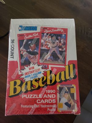 1990 Donruss Packs and Puzzle for Sale in Glendale, AZ