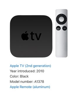 Apple TV 2nd generation for Sale in Seattle,  WA