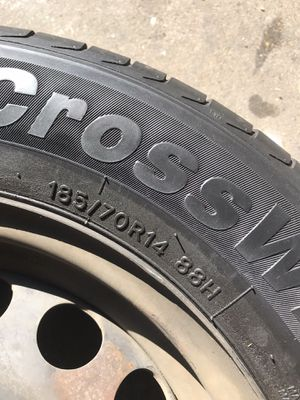 "Rims and tires 14"" for Sale in Montebello, CA"