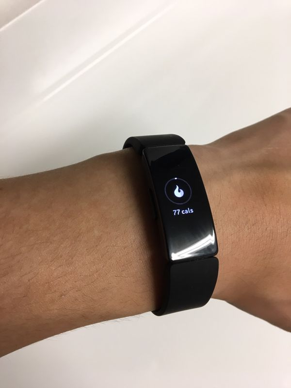 Fitbit Inspire HR black. Workout watch