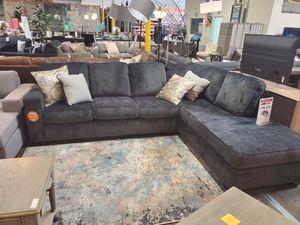Fabric Sectional Sofa, Slate for Sale in Santa Ana, CA