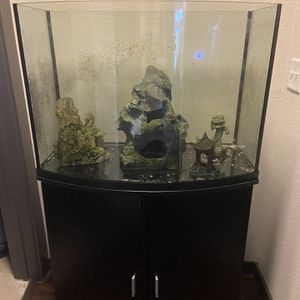 36 Gallon Bow front With Stand for Sale in Norman, OK