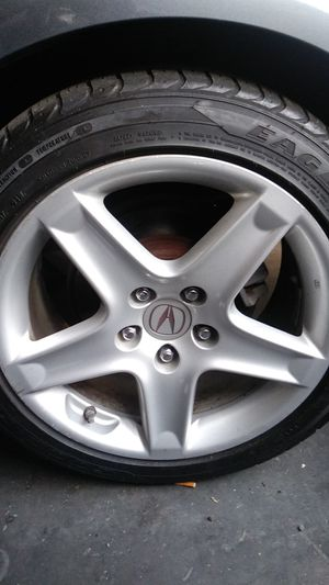 Acura ts tires barley used engine great any parts for Sale in San Jose, CA