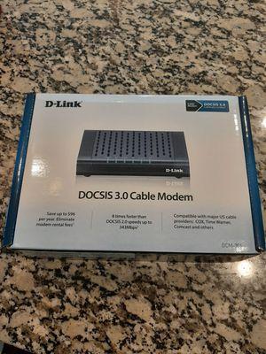 D Link Cabel Modem for Sale in Katy, TX