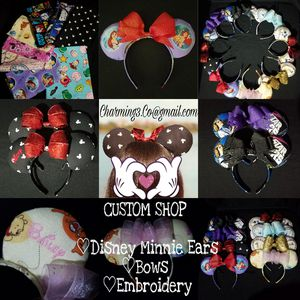 DISNEY INSPIRED MINNIE EARS & MICKEY EARS for Sale in Miami Springs, FL