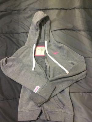 Small hollister zip up hoodie jacket for Sale in West Jordan, UT