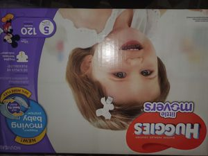 Huggies - Little Movers - Size 5 - 120 count Diapers for Sale in Stickney, IL