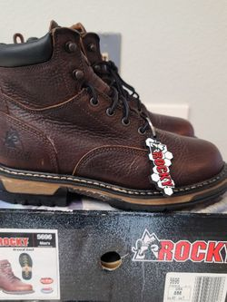 Brand New Rocky Soft Toe Work Boots Size 8 for Sale in Riverside,  CA