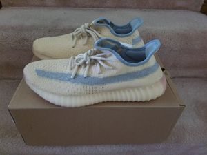 Size 9.5 Men Adidas Yeezy 350 Linen for Sale in Silver Spring, MD