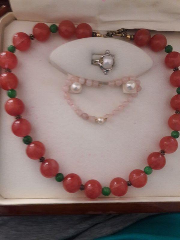 Ruby & Jade Necklace