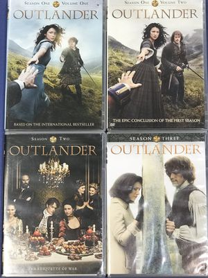OUTLANDER DVDs Seasons 1, 2 and 3 Outlander, Dragon in Amber and Voyager for Sale in Cave Creek, AZ