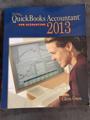 Using Quickbooks for accounting - Owen for Sale in Costa Mesa, CA