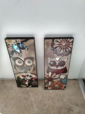 2 wall art 8x20 for Sale in Alexandria, VA