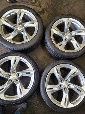 "4 20"" stager wheels chevy camaro 5-120 bolt pattern for Sale in Puyallup, WA"