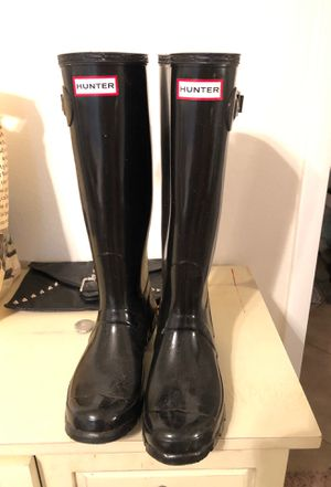 Hunter rain boots for Sale in St. Petersburg, FL