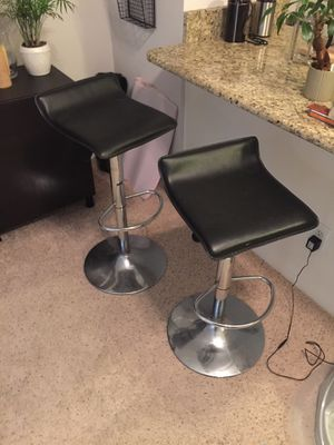 Bar Stools (2) for Sale in Raleigh, NC