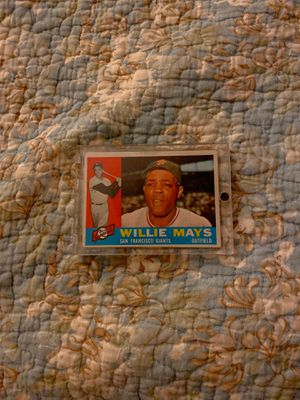 Willie Mays Baseball Card for Sale in Riverside, CA