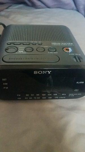 Sony Dream Machine portable am/fm radio/alarm for Sale in Homestead, FL