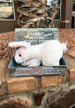 Rabbit With Big Pointy Teeth for Sale in El Paso, TX