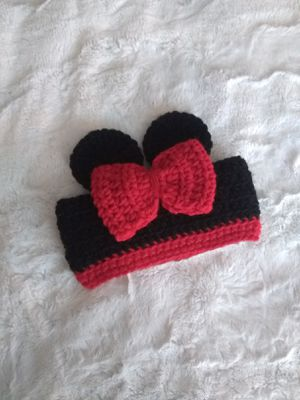 Crochet headband for baby, Minnie Mouse headband for Sale in Phoenix, AZ