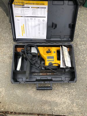 Dewalt rotor hammer for Sale in Bonney Lake, WA