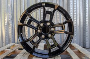 20x8.5 Set of 4 Fit Toyota TRD PRO 4Runner Tacoma FJ Cruiser Gloss Black Wheels 20 Inch 6x139.7 +25 Rims for Sale in Hayward, CA