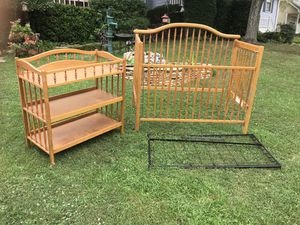 Baby Bed & Changing Table for Sale in Marietta, GA