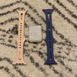 2 Apple Watch Band & Case 42mm for Sale in Nashville, TN