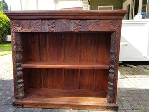 Antique Bookshelf Handmade in India for Sale in Seattle, WA