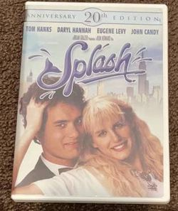 Splash - Anniversary 20th Edition Movie DVD 2004 for Sale in Chapel Hill,  NC