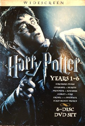 Harry Potter DVD's years 1-6 (Excellent condition) for Sale in Leavenworth, KS