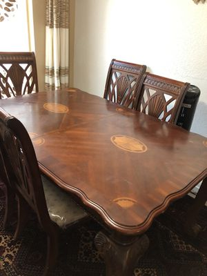 Dining table and chairs for Sale in Tracy, CA