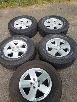 Jeep Wrangler (JK) Wheels/Tires for Sale in Bristol, CT