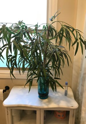 Bahamas style fake plant tree with vase for Sale in Concord, CA