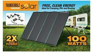 100 watt solar panel from harbor freight tools $125 for Sale in Windsor Locks, CT