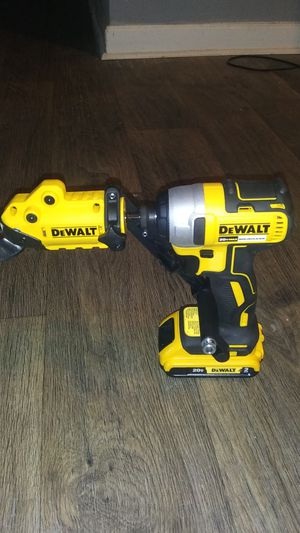 New Dewalt Shear attachment w/20v Brushless Driver for Sale in Atlanta, GA